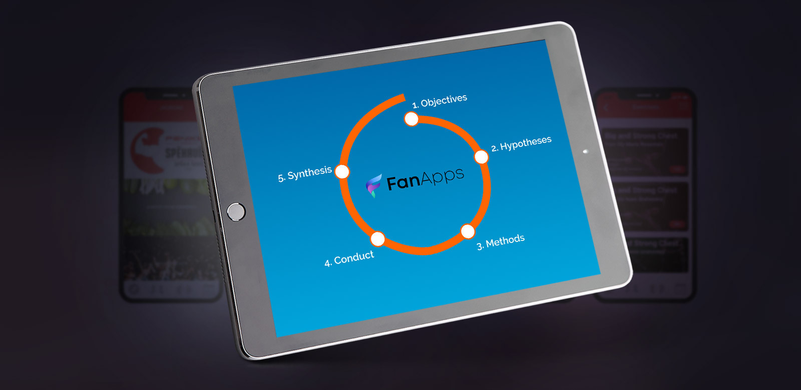 Image for UX Case study at FanApps post